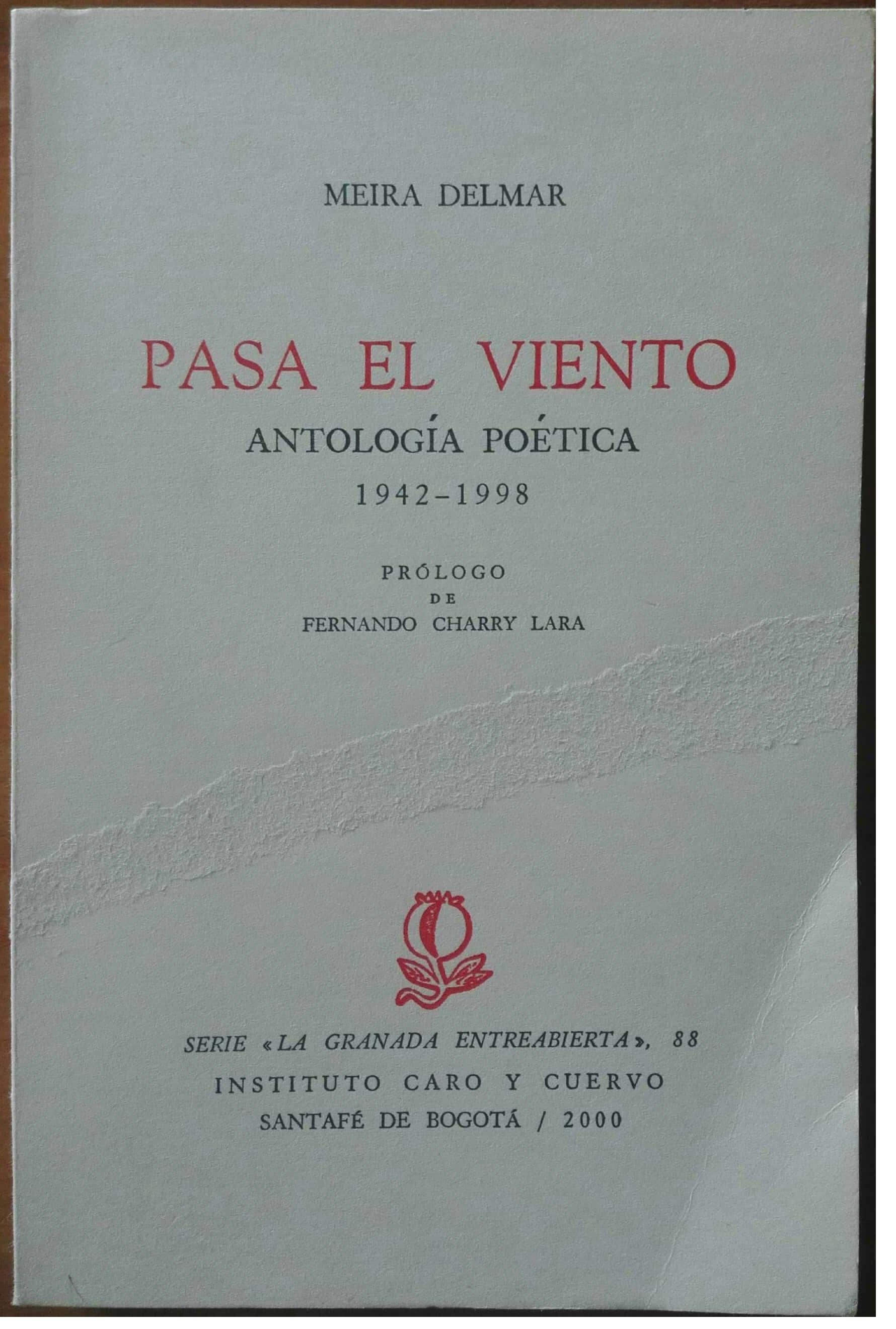 Pasa el viento. Antología poética 1942-1998