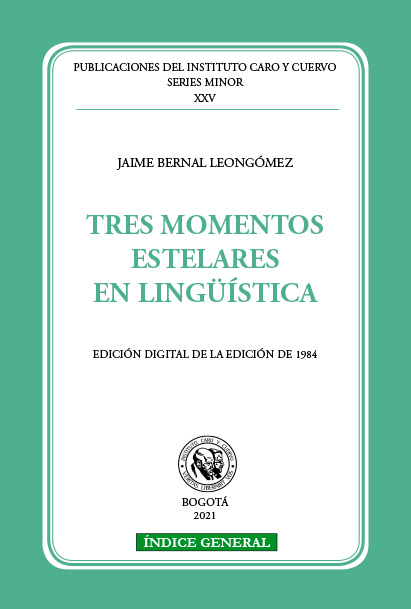 Tres momentos estelares en lingüística (PDF)