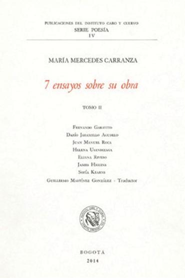 7 ensayos sobre su obra, tomo II