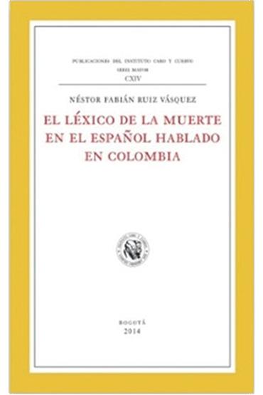 El léxico de la muerte en el español hablado en Colombia