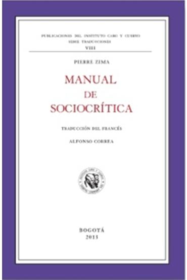 Manual de sociocrítica