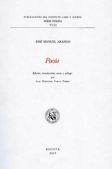 Poesía de José Manuel Arango