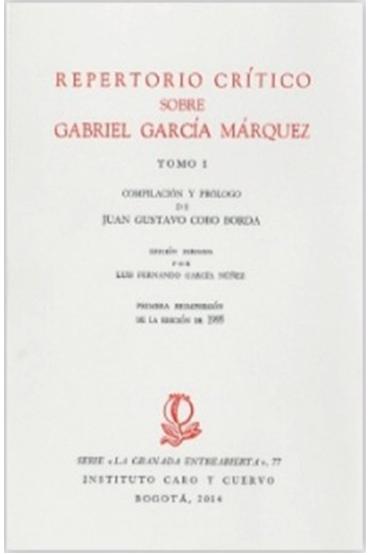 Repertorio crítico sobre Gabriel García Márquez